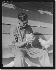 rural rehabilitation client, SFV, 1936