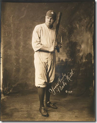 Babe Ruth. c1920.  Library of Congress.