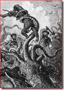 Octopus attacks the Nautilus
