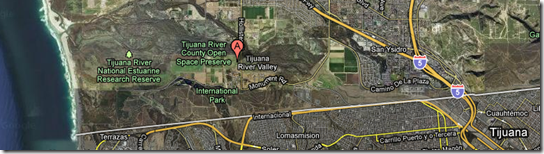 Tijuana River Valley -- Google Maps.