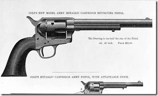 Colt Revolver.