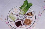 seder plate - Wikipedia