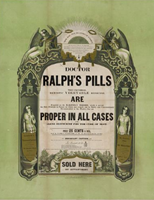 Dr. Ralph's Pills.  LOC.