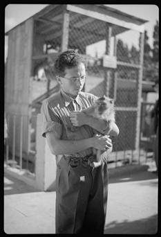 Tel Aviv Zoo.  1939.