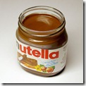 Yummy Nutella.