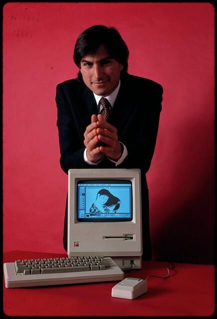 Apple Computer Steve Jobs